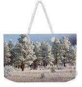 Frosty Pikes National Forest Weekender Tote Bag