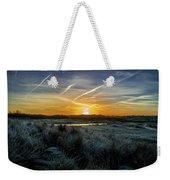 Frosty Sunrise Weekender Tote Bag