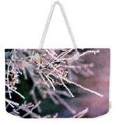 Frosty Twigs Weekender Tote Bag