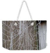 Frosty Web Weekender Tote Bag