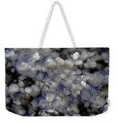 Frozen Blue Weekender Tote Bag