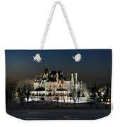 Frozen Boldt Castle Weekender Tote Bag by Lori Deiter