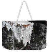 Frozen Branch Weekender Tote Bag