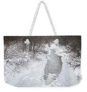 Frozen Brook Weekender Tote Bag