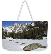 Frozen Colorado  Weekender Tote Bag
