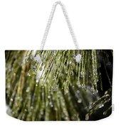 Frozen Drops Weekender Tote Bag