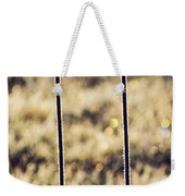 Frozen Fence Weekender Tote Bag by Wim Lanclus