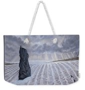 Frozen Field Megalith Weekender Tote Bag