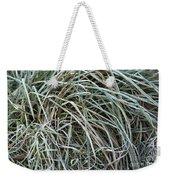Frozen Grass - Ground Frost Weekender Tote Bag