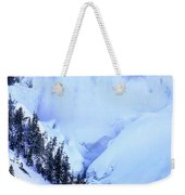 Frozen In Time Yellowstone National Park Weekender Tote Bag