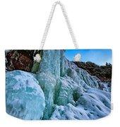 Frozen Kaaterskill Falls Weekender Tote Bag