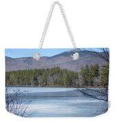 Frozen Lake Chocorua Weekender Tote Bag