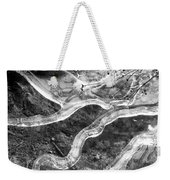 Frozen Puddle Two  Weekender Tote Bag