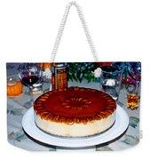 Frozen Pumpkin Mousse Torte Weekender Tote Bag