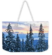 Frozen Reflection 2 Weekender Tote Bag