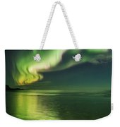 Frozen Reflection Weekender Tote Bag