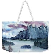 Frozen River Weekender Tote Bag