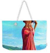 Summer Blossom Weekender Tote Bag