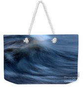 Frozen Swell Weekender Tote Bag