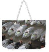 Frozen Tuna Fish At The Tsukiji Weekender Tote Bag
