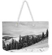 Frozen Valley 4 Bw  Weekender Tote Bag