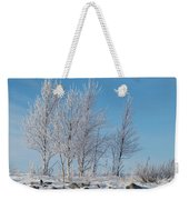 Frozen Views 2 Weekender Tote Bag