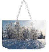 Frozen Views 3 Weekender Tote Bag