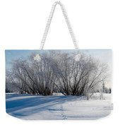 Frozen Views 4 Weekender Tote Bag