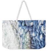 Frozen Waterfall Gullfoss Iceland Weekender Tote Bag