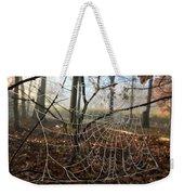 Frozen Web Weekender Tote Bag