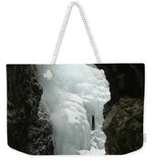 Frozen Zapata Falls Weekender Tote Bag