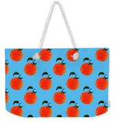 Fruit 01_orange_pattern Weekender Tote Bag