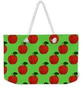 Fruit 02_apple_pattern Weekender Tote Bag