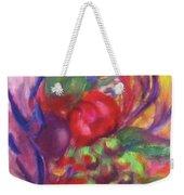 Fruit And Flowers Weekender Tote Bag