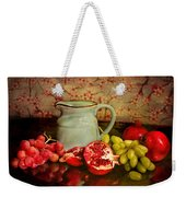 Fruit And Pitcher Weekender Tote Bag