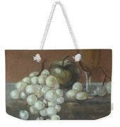 Fruit And Wine Weekender Tote Bag