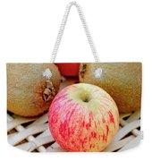 Fruit Basket. Apple. Weekender Tote Bag