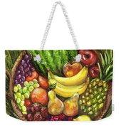 Fruit Basket Weekender Tote Bag