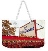 Fruit Basket Stand Weekender Tote Bag