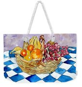 Fruit Basket Still Life 2 Painting Weekender Tote Bag