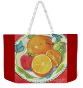 Fruit Bowl Weekender Tote Bag
