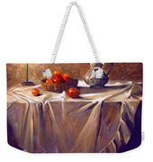 Fruit By Candle Light Weekender Tote Bag