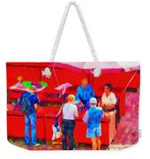 Fruit Of The Vendor Weekender Tote Bag by Jeff Kolker
