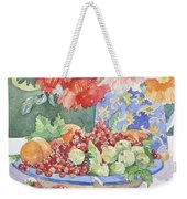 Fruit On A Plate Weekender Tote Bag