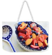 Fruit Salad With Spoon Weekender Tote Bag