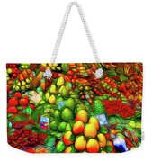 Fruit Stand At La Boqueria Weekender Tote Bag