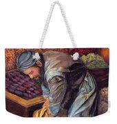 Fruit Vendor Weekender Tote Bag
