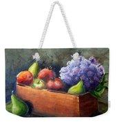Fruit With Hydrangea Weekender Tote Bag