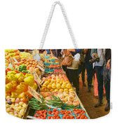 Fruits And Vegetables - Pike Place Market Weekender Tote Bag