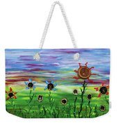 Fruity Flowerfield Weekender Tote Bag